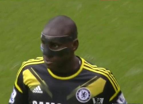 Demba Ba, Manchester City - Chelsea