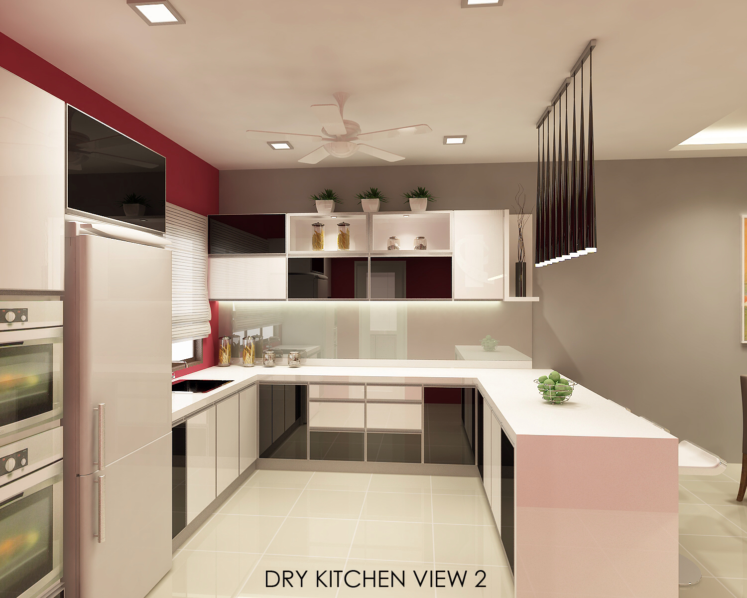 ... Images For The Wet Kitchen, Which Is Pretty Straightforward. In This  Post I Would Like To Share The 3 D Images For The Proposed Open Plan Dry  Kitchen.