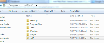 Folder Xpdf