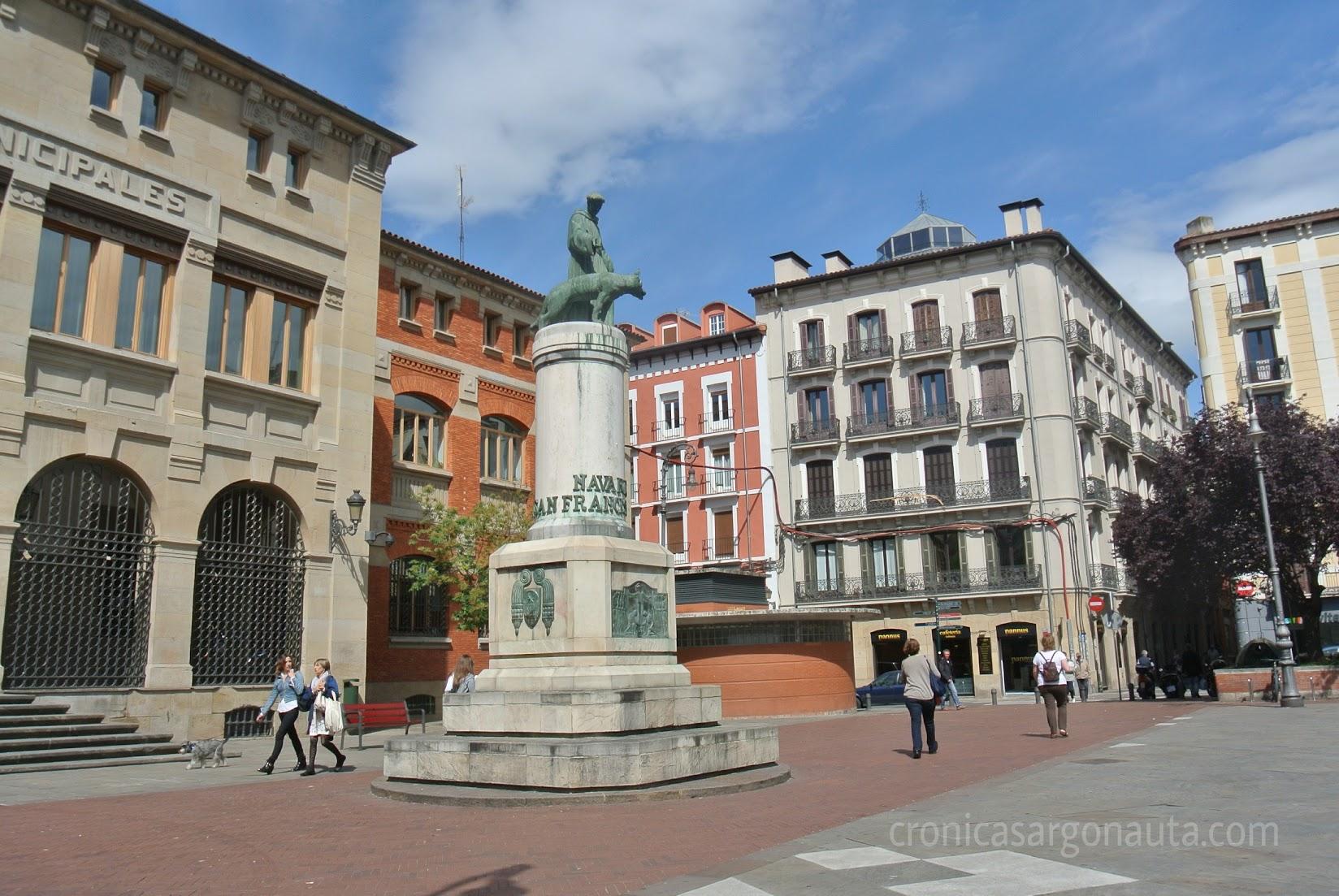 Plaza San Francisco de Asís, Pamplona