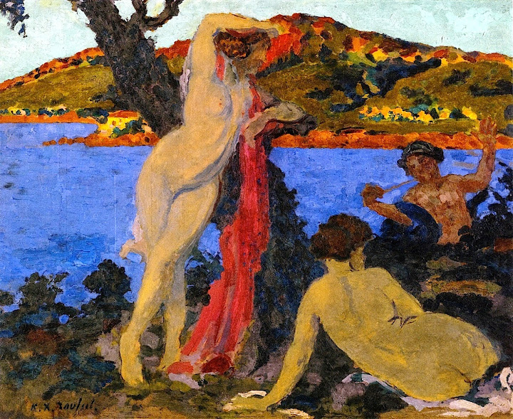 Ker Xavier Roussel - Summer on the Mediterranean-1907