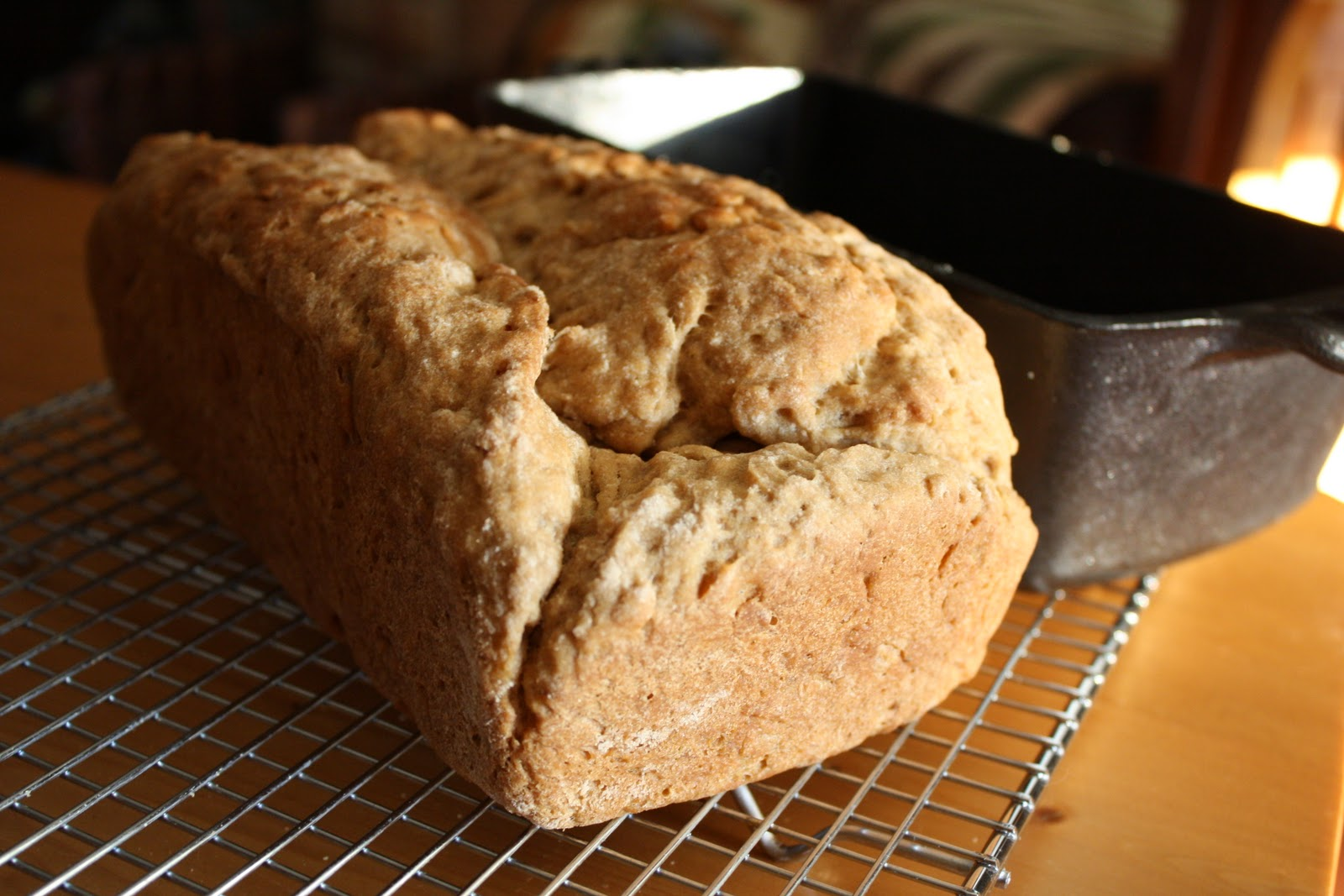 Honey Whole Wheat Micro-Brew Bread Recipe - Awake at the Whisk