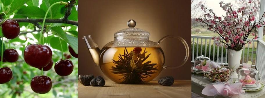 Чай из веток вишни