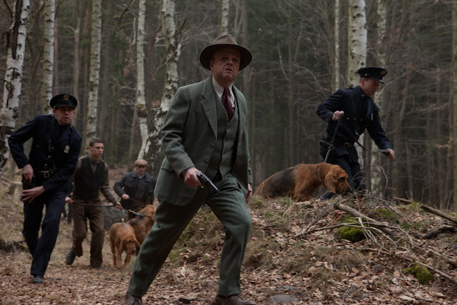 Toby Jones as Sheriff McDowell in Serena