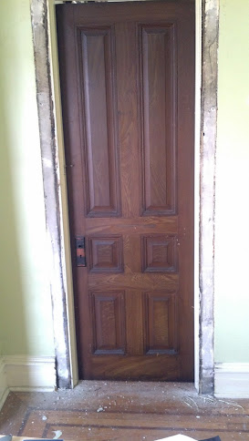 Closing Off Doorway In Plaster Wall Drywall Amp Plaster