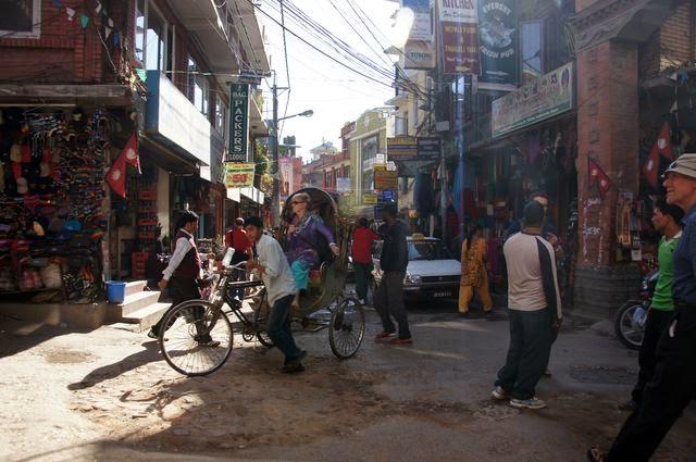 達人帶路-環遊世界-尼泊爾-三輪車