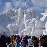 Alaska Buz Heykelleri