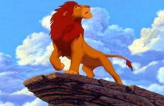 El león rey  fabula