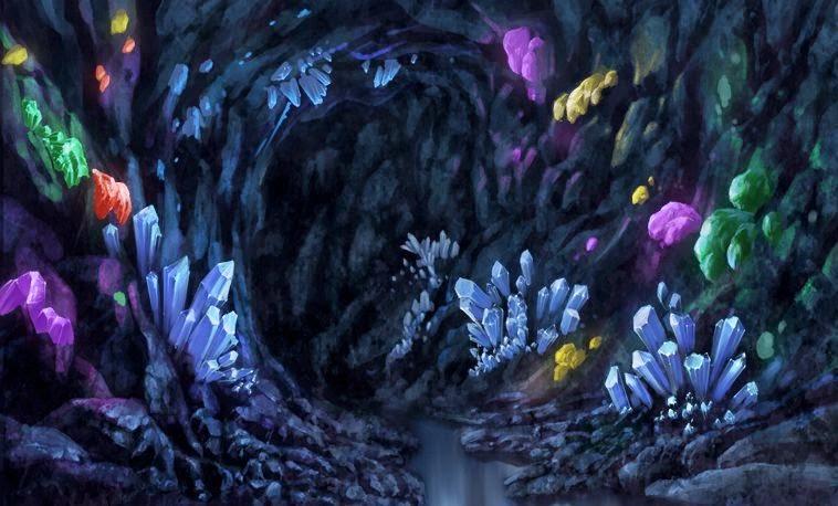 crystals underground