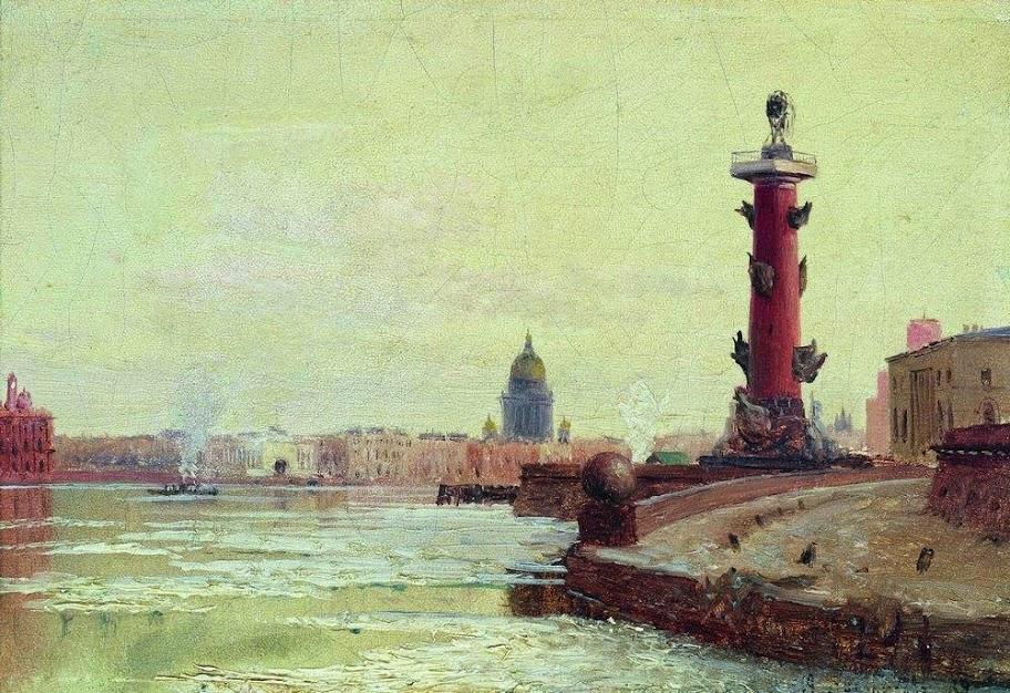 Alexey Bogolybov - Vasilievsky island