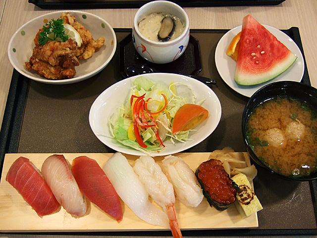 Nigiri Sakura set