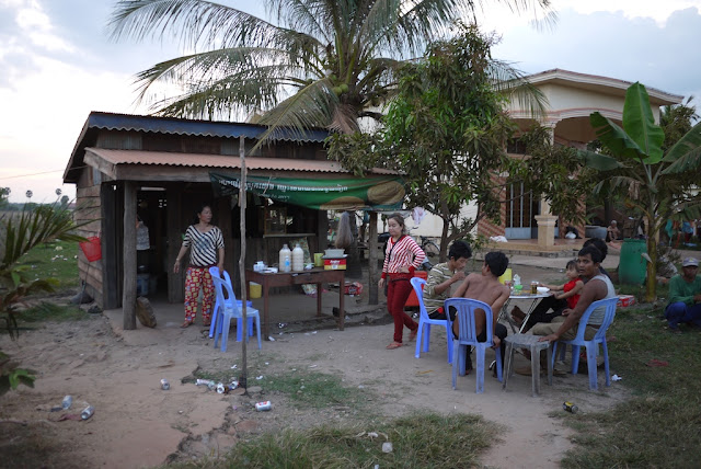 palm wine shop in Kampot, Cambodia