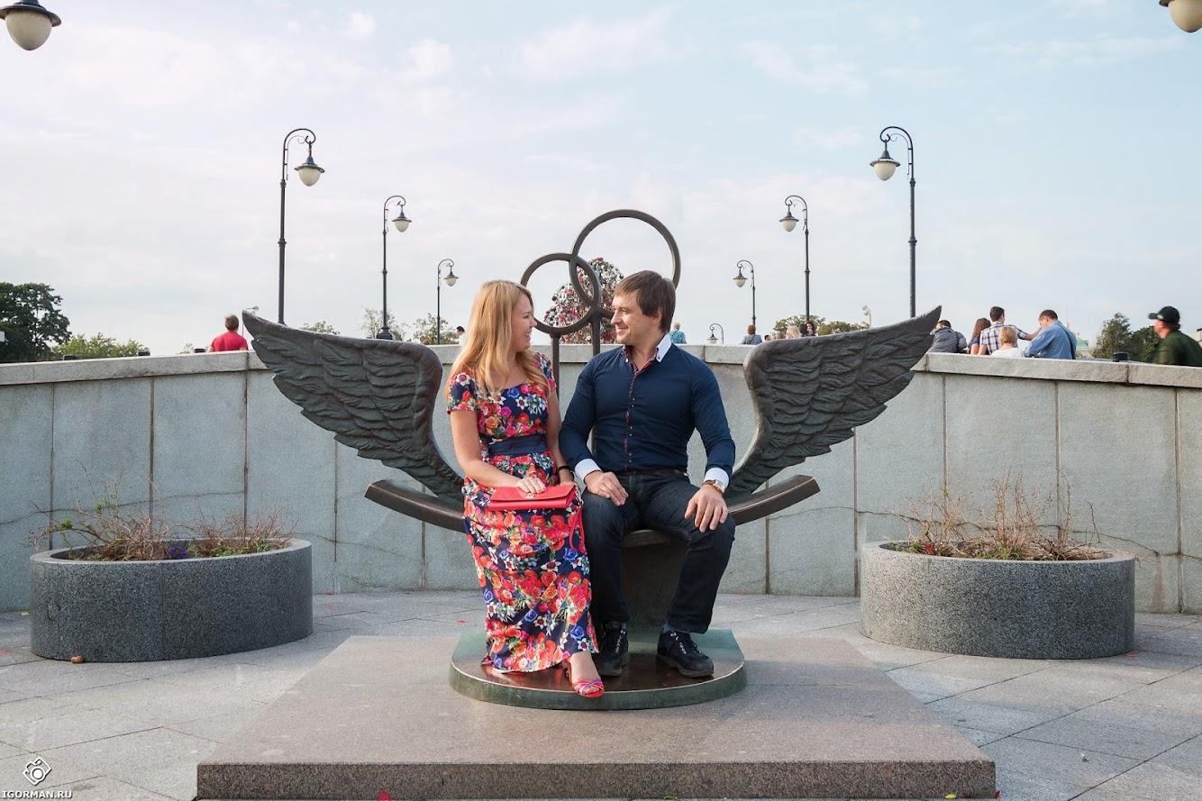 Фотосъемка Love Story - Лужков мост, Москва