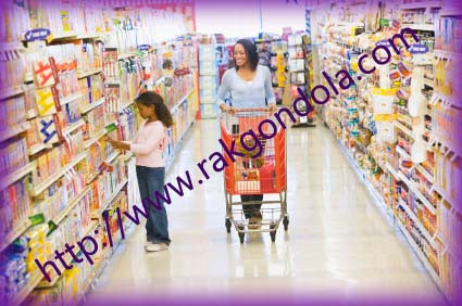 Rak Gondola Supermarket