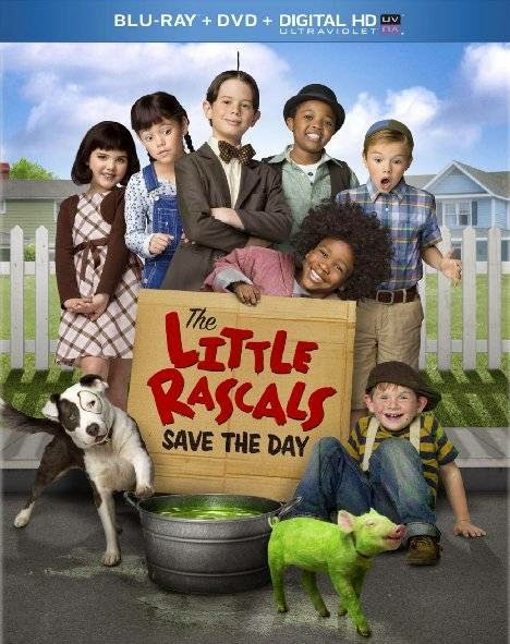 Poster Of English Movie The Little Rascals Save the Day (2014) Free Download Full New Hollywood Movie Watch Online At alldownloads4u.com