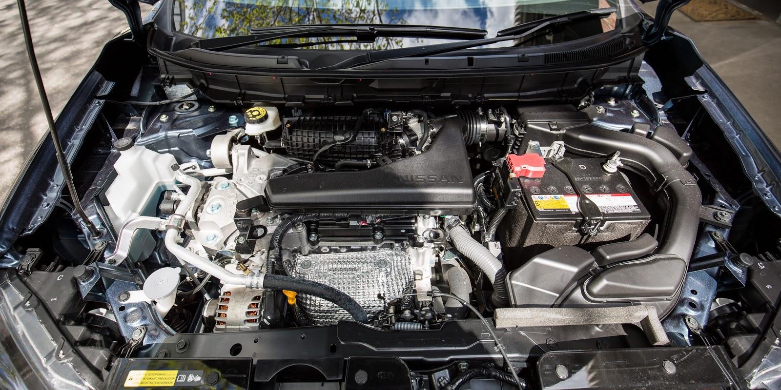 Động cơ của Nissan X-Trail 2016 cực kỳ tiết kiệm nhiên liệu và khá yếu