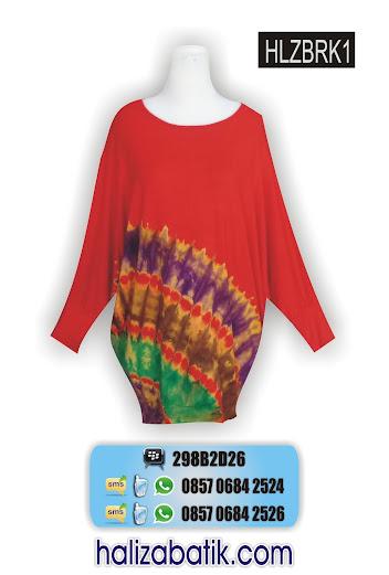 grosir batik pekalongan, Baju Seragam, Blus Batik, Model Blus