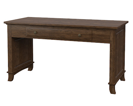 Rochester Writing Desk in Hayes Quarter Sawn Oak