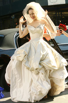 The Absolutely Gorgeous Dress Worn By Sarah Jessica Parker S And City Charcter Carrie Bradshaw Designed Famous Vivienne Westwood