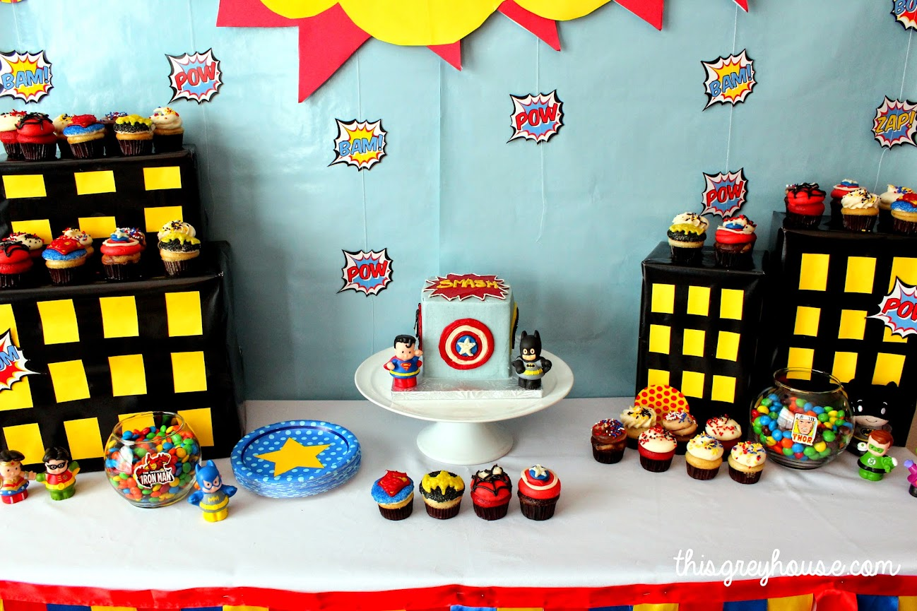 Superhero Party by This Grey House