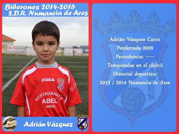 ADR Numancia de Ares. ADRIAN VAZQUEZ