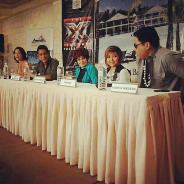 05/15/12 - 'The X Factor Philippines' Press Conference - Plantation Bay Resort & Spa, Cebu, Philippines Cebupresscon2