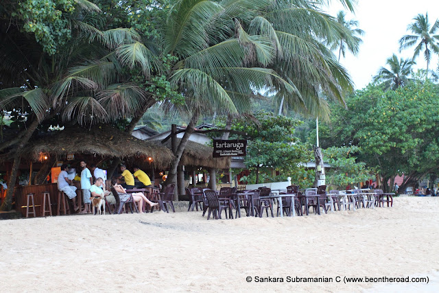 Chilling out at Tartaruga, another beach shack on Unawatuna Beach