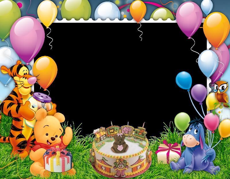Birthday Frame Png Frame Happy bi Birthday