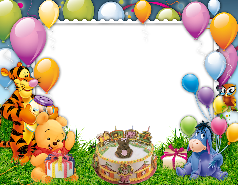 Birthday Frames And Borders Frame Happy bi Birthday