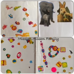 Tot School - Animals scrap page and recognition sticker book