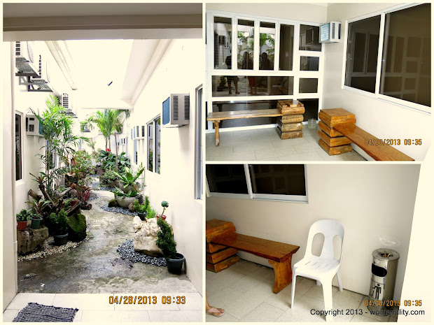 Chalet Baguio Garden and Smoking Area