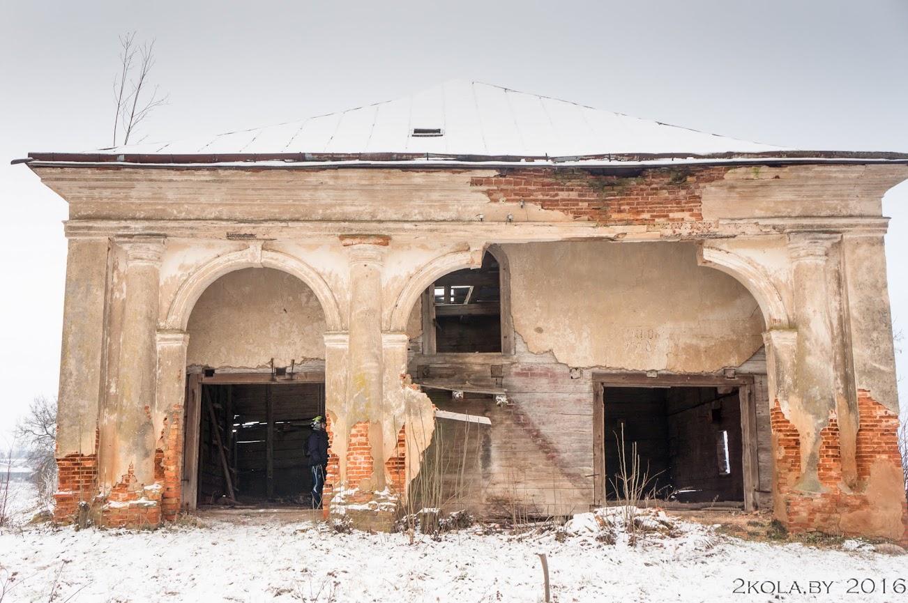 DSC08170 - Зимняя покатушка к резиденции Радзивиллов (Снов-Несвиж-Городея)