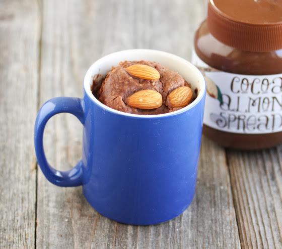 Chocolate Almond Mug Cake