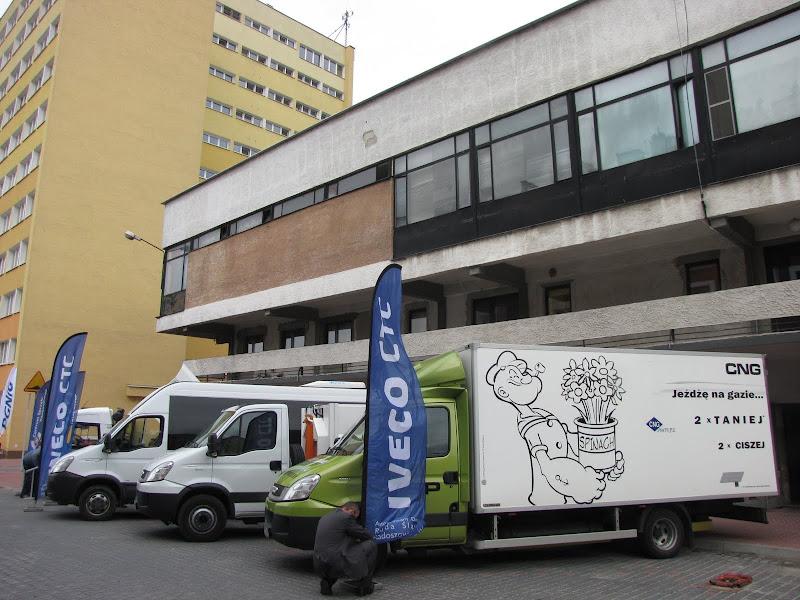 Iveco systematycznie prezentuje swoje pojazdy CNG na licznych wystawach
