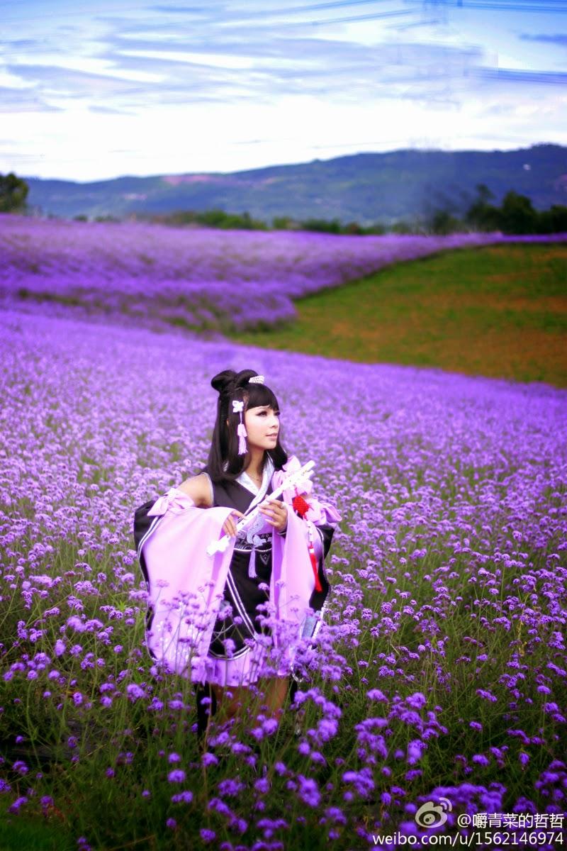 Nữ hiệp Vạn Hoa dạo chơi giữa rừng hoa - Ảnh 1