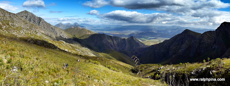 Looking back towards Montagu