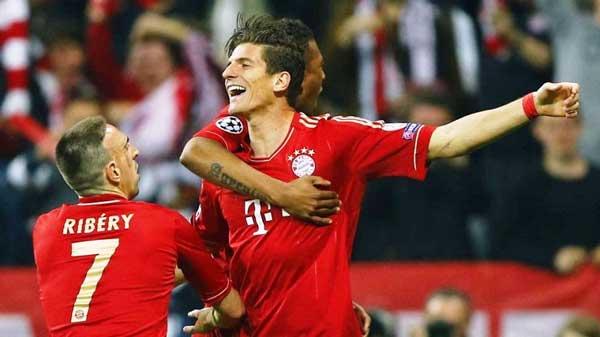 Liga de Campeones, Bayern Munich-Barcelona