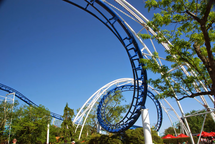 The Corkscrew! From The Complete Guide to Visiting Cedar Point