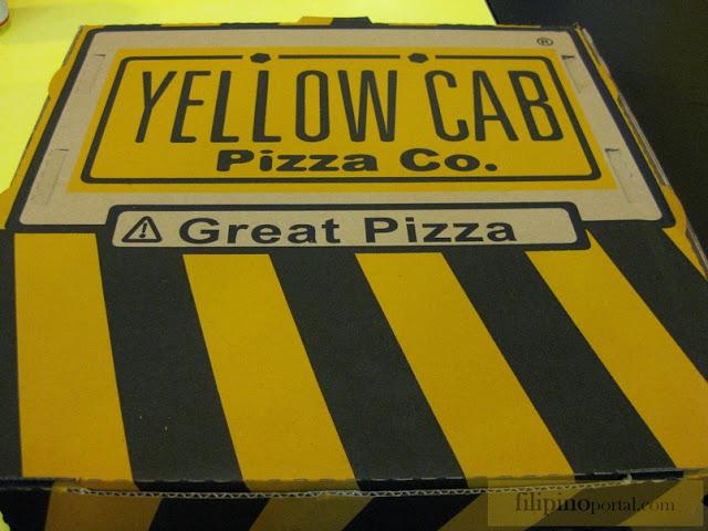 Yellow Cab Pizza Box