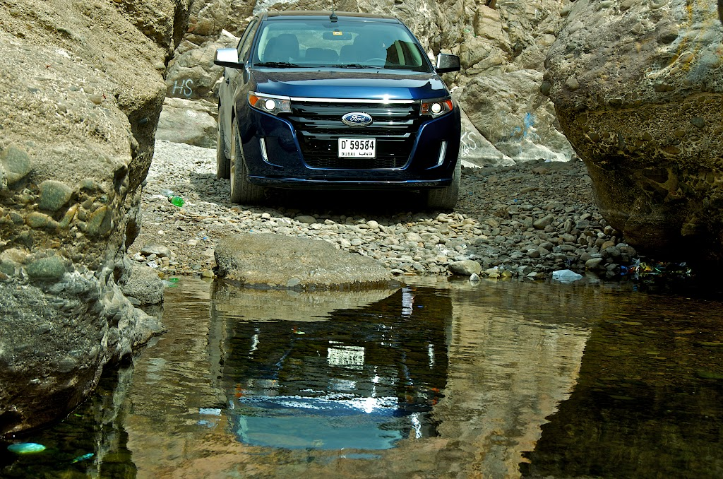 Weekend Trip to Hatta Pools with Ford Edge