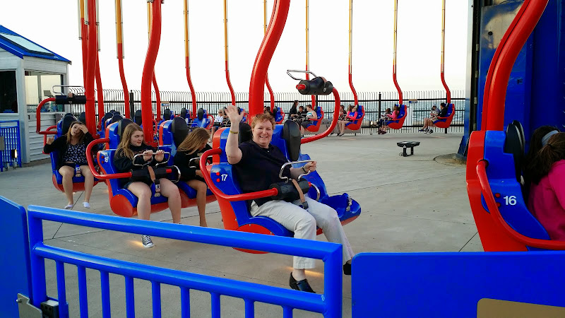 Getting ready to ride the Windseeker. From The Complete Guide to Visiting Cedar Point