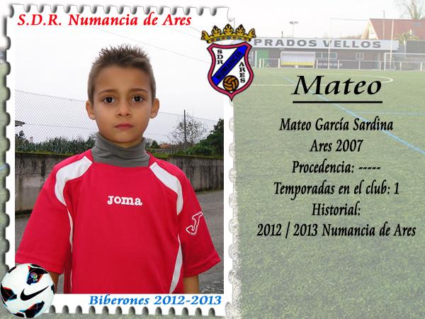 ADR Numancia de Ares. Mateo García.