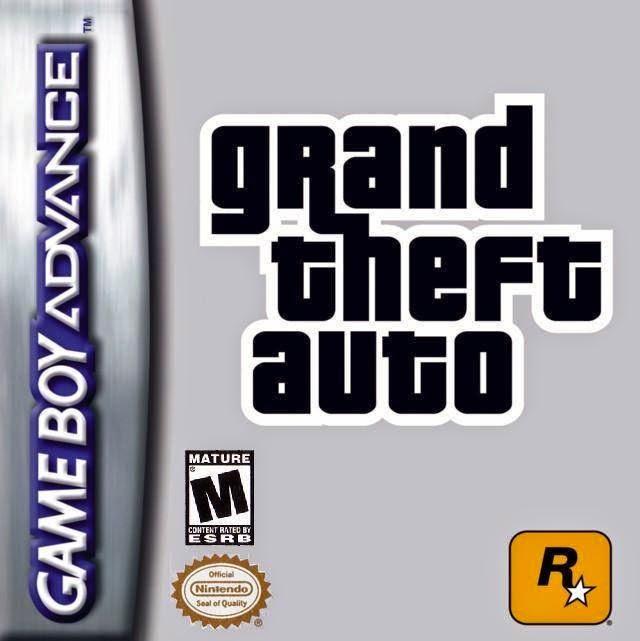 (GBA) Grand Theft Auto Advance [PL]