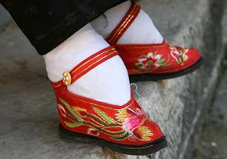 pieds bandés Pieds-bandes-chine