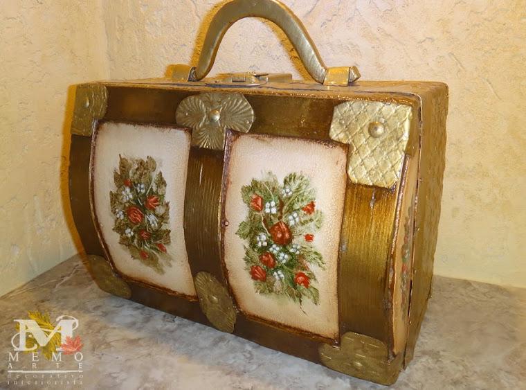Arte decorativo. Memo-arte-decoracion-guillermo-gomez-decorativo-interiorista-baules-3