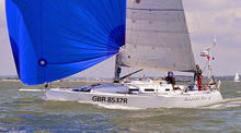 J/109 offshore one-design cruising racing sailboat- sailing RORC race