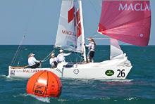 J/22 sailing Womens Worlds- Anna Tunnicliffe