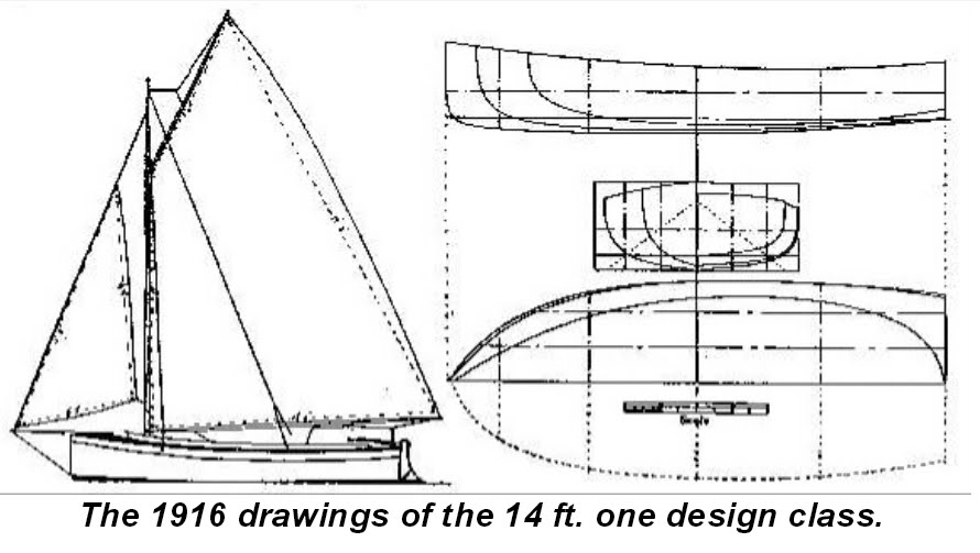 History of the planing dinghy