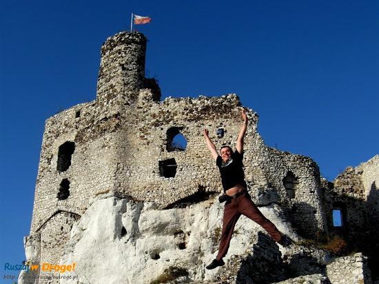 Maciej na zamku Mirów