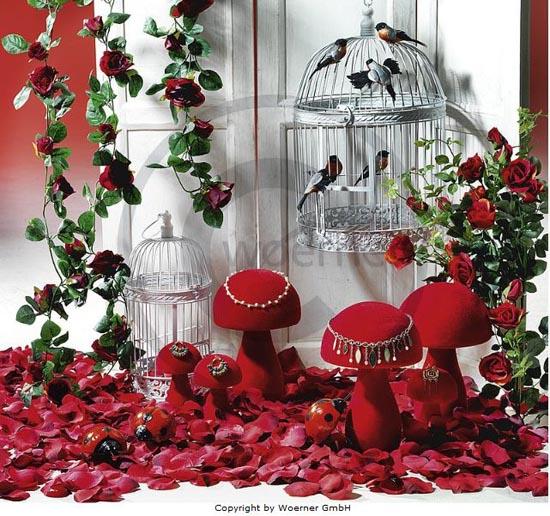 Inspiración para decoración de tiendas en San Valentín.